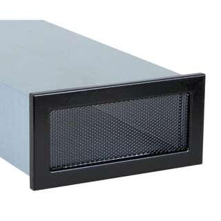 l ftungsgitter f r flachkanal schwarz kaufen auf. Black Bedroom Furniture Sets. Home Design Ideas