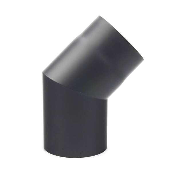Sehr Gut Ø 150 mm - Bogen 45° Stahlblech Gussgrau | ofenseite.com XE77