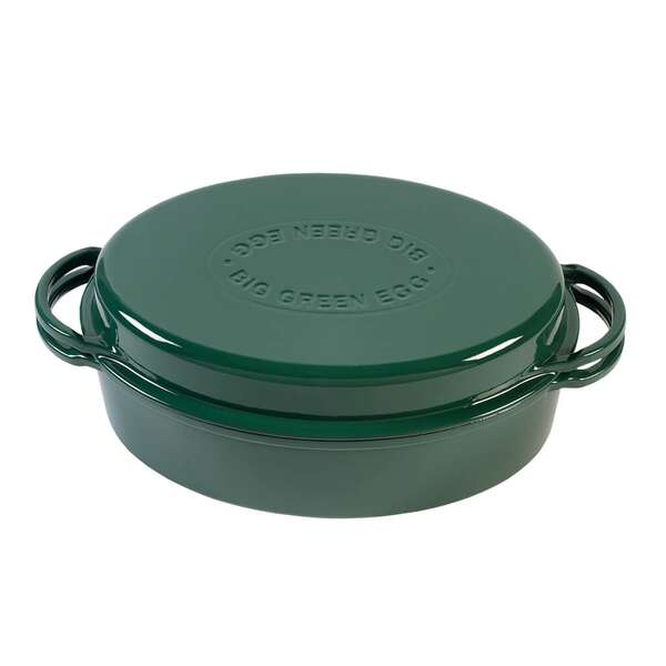 Dutch Oven Grün Big Green Egg Oval