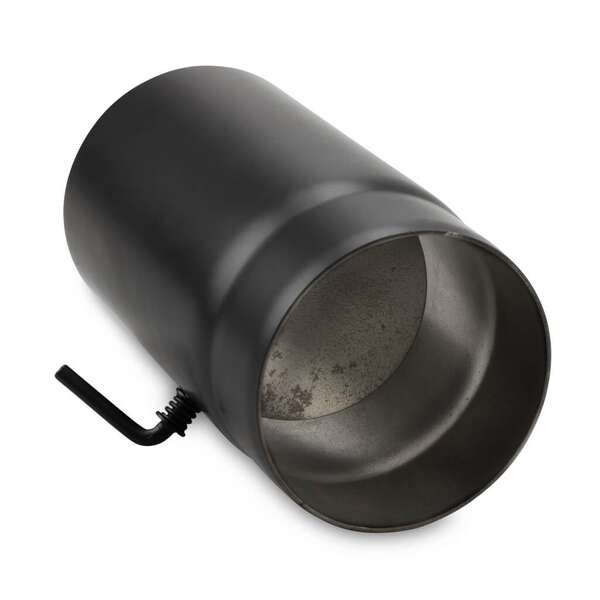 120 mm ofenrohr 25 cm mit drosselklappe bei. Black Bedroom Furniture Sets. Home Design Ideas