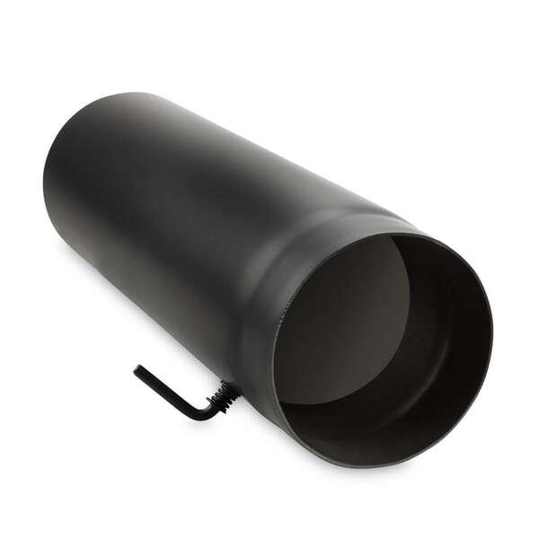 150 mm ofenrohr 50 cm mit drosselklappe bei. Black Bedroom Furniture Sets. Home Design Ideas