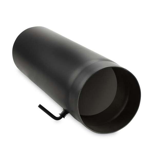 160 mm ofenrohr 50 cm mit drosselklappe bei. Black Bedroom Furniture Sets. Home Design Ideas