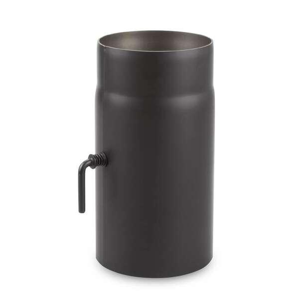 180 mm ofenrohr 25 cm mit drosselklappe. Black Bedroom Furniture Sets. Home Design Ideas