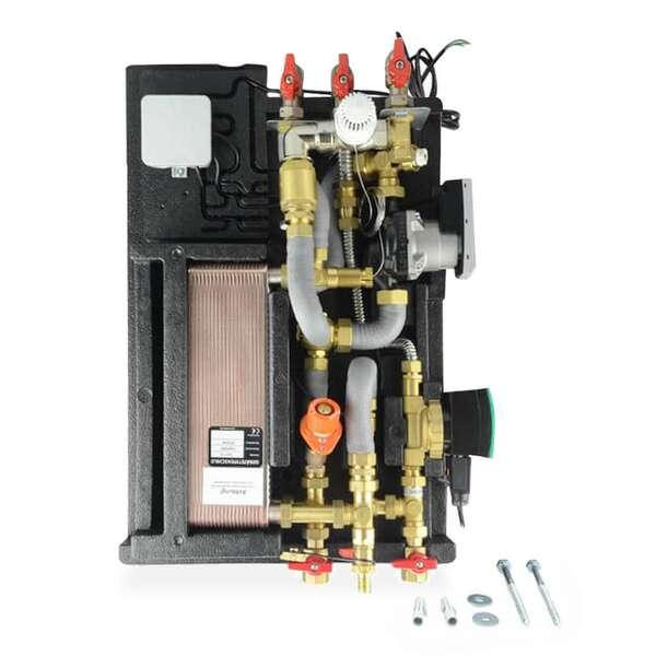 WIPEX Doppelthermostat mit Sicherheitstemperaturbegrenzer