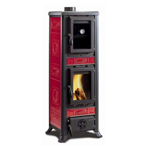 Kaminofen La Nordica Fulvia Forno Liberty Bordeaux