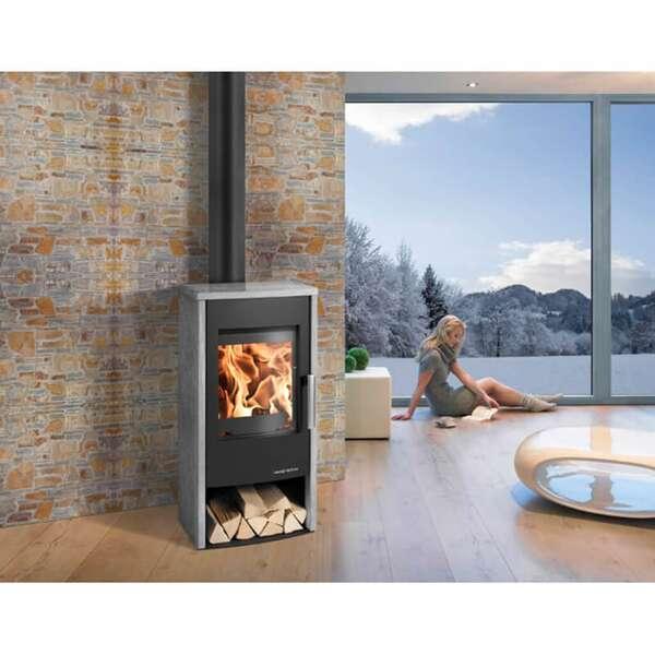 kaminofen haas sohn rubus easy serpentino. Black Bedroom Furniture Sets. Home Design Ideas
