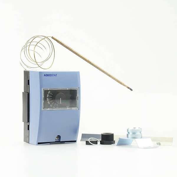 wip rauchgasthermostat mit anlegeblech auf. Black Bedroom Furniture Sets. Home Design Ideas
