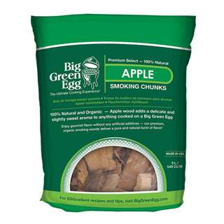 Holz-Chunks Big Green Egg Apfel