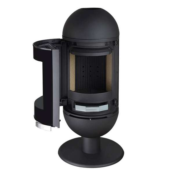 kaminofen invicta alta s mit 6 kw g nstig. Black Bedroom Furniture Sets. Home Design Ideas
