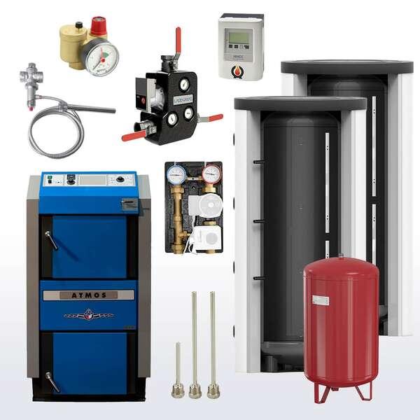 Holzvergaserkessel Set online bestellen
