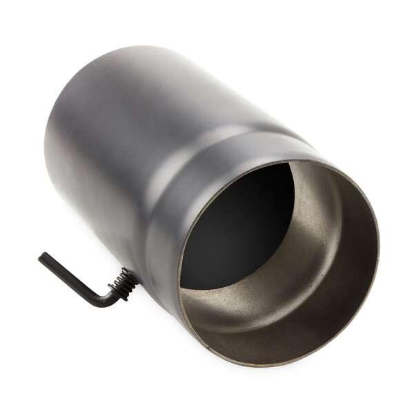 120 mm ofenrohr 25 cm mit drosselklappe. Black Bedroom Furniture Sets. Home Design Ideas