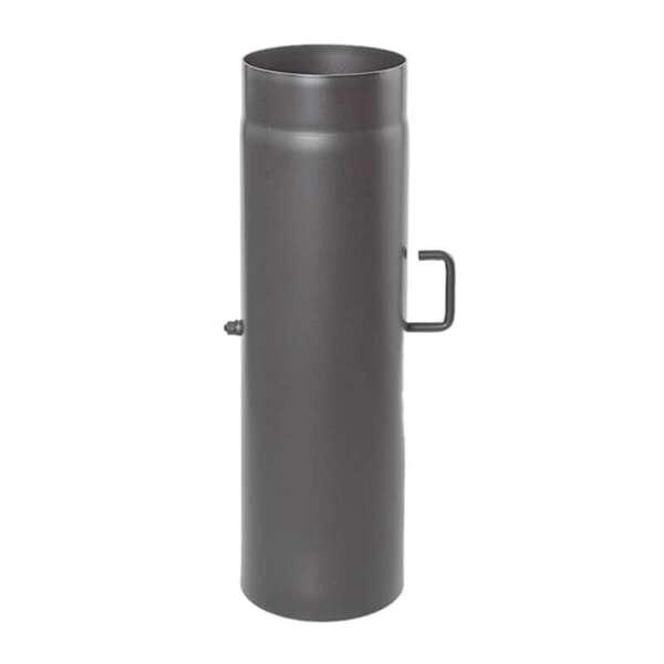 130 mm ofenrohr 50 cm mit drosselklappe bei. Black Bedroom Furniture Sets. Home Design Ideas