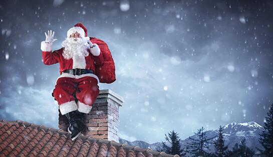 warum kommt der weihnachtsmann durch den schornstein. Black Bedroom Furniture Sets. Home Design Ideas